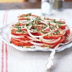 Superfast Summer Recipes | Creole Tomato Salad | CookingLight.com