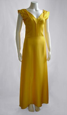 Check out the deal on GOLD PLEAT-FRONT DRESS at Eco First Art