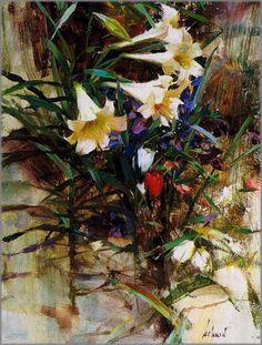 Richard Schmid - Lilies