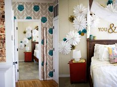 another creative & inspiring idea by AshleyAnn! LOVE the wallpaper!