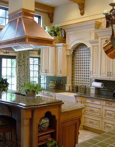 crown molding...uba granite counter tops