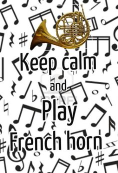 HAHA LOVE IT! french horn