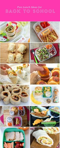 Fun Lunch Ideas for