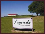 Legends Vineyard and Winery - Lindsay, Oklahoma
