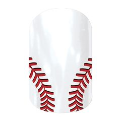 Curve Ball  nail wraps by Jamberry Nails