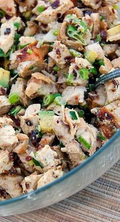 Grilled Chicken, Bacon, and Avocado Salad #lowcarb