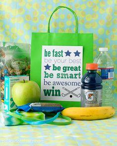 coach gift, kids bags, gift ideas, buddi bag, goody bags, goodie bags, sport, snack bags, goodi bag