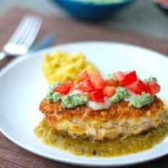 Tortilla Chicken w/Salsa Verde