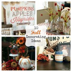 For fall--10 fall decorating ideas