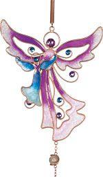 Purple Angel Wind Chime