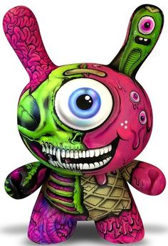 '4ft Custom Dunny' by Buff Monster & L'Amour Supreme. This I would love to see as a production piece.