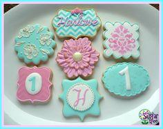 Vintage glamour cookies
