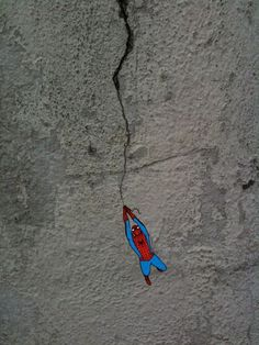 Concrete Spider-Man #spiderman #walls