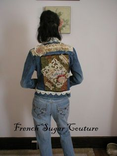 Altered Couture  French Sugar Parisian by frenchsugarcouture, $135.00 french sugar, upcycl cloth, couture, alter courtur, recycl cloth, alter coutur