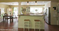 support column in kitchen island