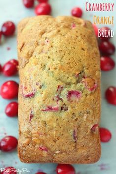 Cranberry Orange Bre