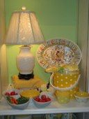 Getting ready for that summer party? Stop by The LIttle Exchange in Oakwood for fun pieces for your summer get together. A yellow polka dot ice box, yellow polka dot bowls and a yellow daisy serving tray are all perfect items to entertain your guests! All proceeds benefit Dayton Children's!