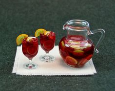 Classic Sangria Set by EverydayGourmet on Etsy, $29.50