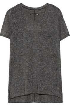 the perfect slouchy grey tee