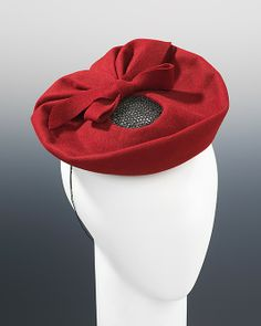 Hat 1940, French, Made of wool