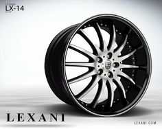Lexani Wheels, the leader in custom luxury wheels. Wheel Detail - LX-14, part of the LX series.