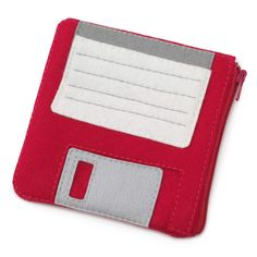 Floppy disk pouch. For your flash drive. Heh.  ..(i remember when i had to actually use floppy disks for school work. --HD)