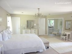 How To Paint Trim White and Choose Paint Colors | LiveLoveDIY
