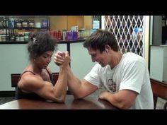 Latia Skyler armwrestel