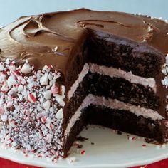 Chocolate Peppermint Cake