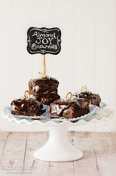 Homemade Almond Joy Brownies