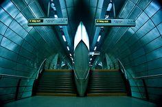 Southwark Tube Station - London -