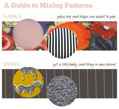 How To: Mix Patterns and Textures in Your Home!