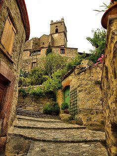 Eus, Languedon-Roussillon, Eastern Pyrenees, France