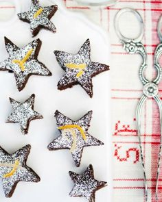 Chocolate & Orange Star Cookies