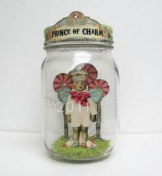Altered art jar