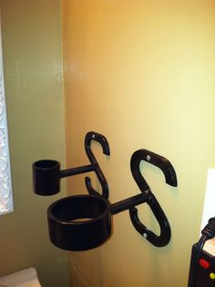 Blow Dryer and Curling Iron Holder