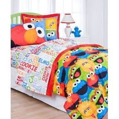 #10: Sesame Street Twin Sheet Set