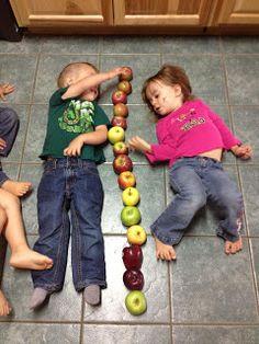 Toddler/Preschool Fall, Apples and Pumpkin Theme