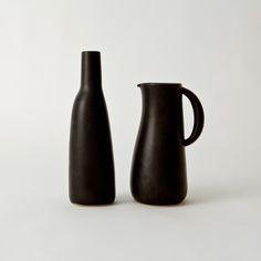 Stoneware Jug & Bottle