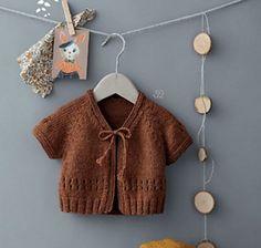 Ravelry: 32 - le cardigan pattern by Phildar Design Team - Little Cardigan