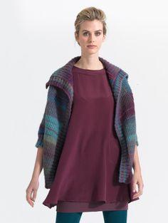 Free Knitting Pattern: Raglan Sleeve Topper