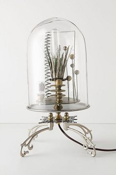 Kerplunk Bell Jar Lamp from Anthropologie