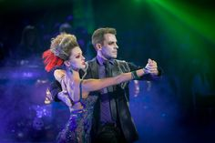 Ashley Taylor Dawson and Ola Jordan - Strictly Come Dancing 2013 - Week 6 Halloween