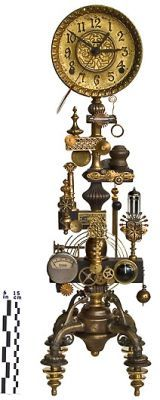 Roger Wood Steampunk Clock