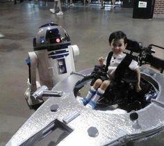 Star Wars wheelchair costume :)