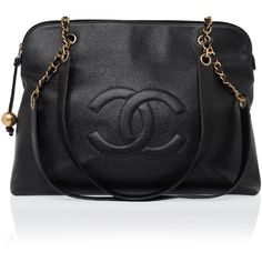 CHANEL REWIND Large CC Chain Shoulder Bag ($7,010) ❤ liked on Polyvore