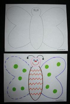 Butterfly glyph
