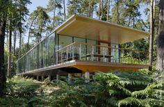 Lennox Residence forests, houses, artau architectur, lennox resid, nature, glasses, glass box, belgium, architecture
