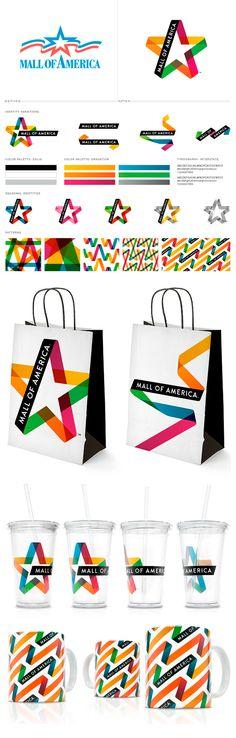 mall of america #identity #branding #packaging #marketing PD