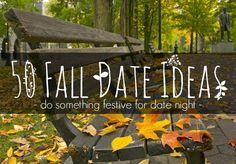 50 Fun Fall Date Ideas